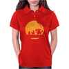 Fire Moonwalk Womens Polo