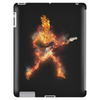 Fire Skeleton Guitarist Tablet