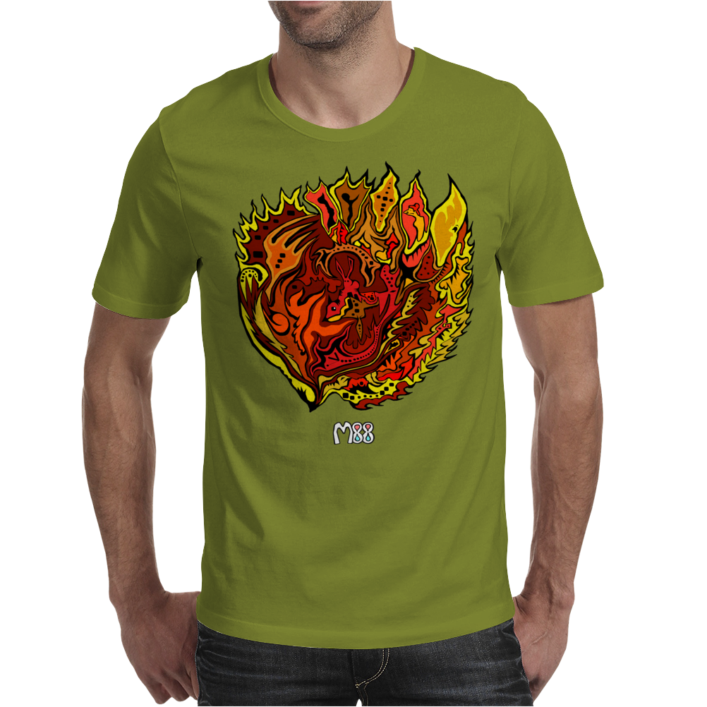 Fireball Mens T-Shirt