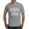 Firefighter Awesome Mens T-Shirt