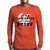 Firefighters know stuff - red Mens Long Sleeve T-Shirt