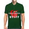 Firefighters know stuff - wht Mens Polo
