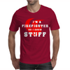 Firefighters know stuff - wht Mens T-Shirt