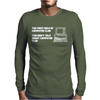 First Rule Of Computer Club Mens Long Sleeve T-Shirt