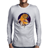 Fish in Space T-Shirt Mens Long Sleeve T-Shirt