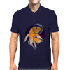 Fish in Space T-Shirt Mens Polo