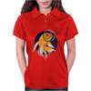 Fish in Space T-Shirt Womens Polo