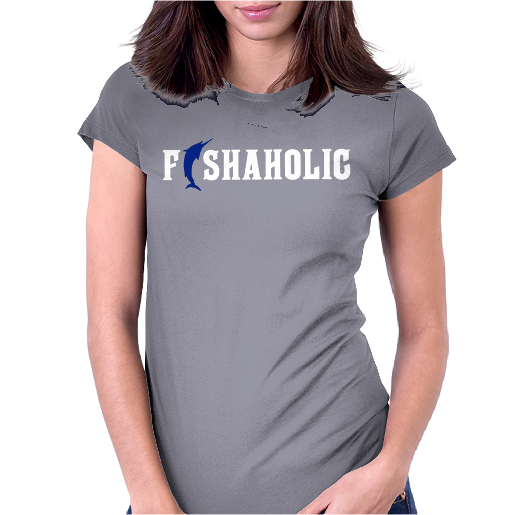 Fishaholic Womens Fitted T-Shirt