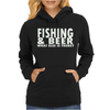 FISHING BEER Womens Hoodie