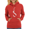 Fishing Hook Funny Womens Hoodie
