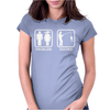 Fishing - Problem Solved Womens Fitted T-Shirt
