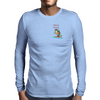 fishing veteran Mens Long Sleeve T-Shirt