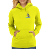 fishing veteran Womens Hoodie