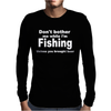 fishing with beer Mens Long Sleeve T-Shirt