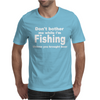 fishing with beer Mens T-Shirt