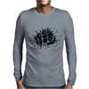 fist breaks Mens Long Sleeve T-Shirt