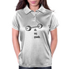Fitness Fanatic Humor: Oh My Quads with Barbell Womens Polo