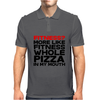 Fitness More liike fitness whole pizza in my mouth Mens Polo