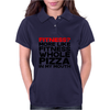 Fitness More liike fitness whole pizza in my mouth Womens Polo
