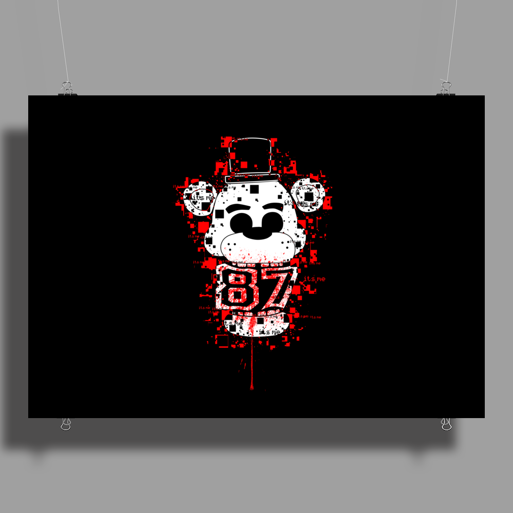 Five Nights At Freddy's - It's Me Poster Print (Landscape)