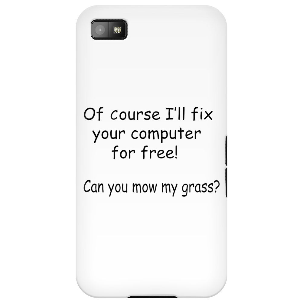 Fix computer for free Phone Case