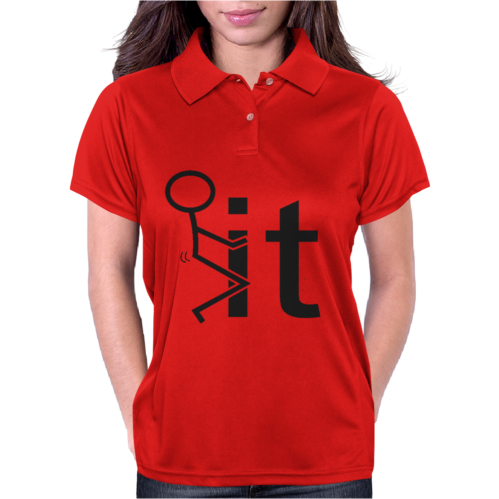 Fk It College Party Womens Polo