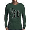 Fk It Funny College Party Mens Long Sleeve T-Shirt
