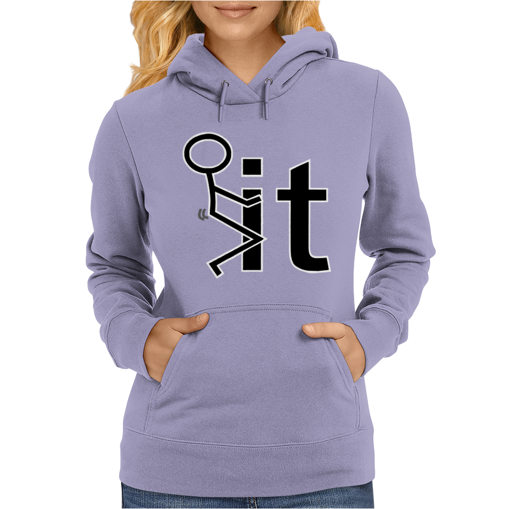 Fk It Funny College Party Womens Hoodie