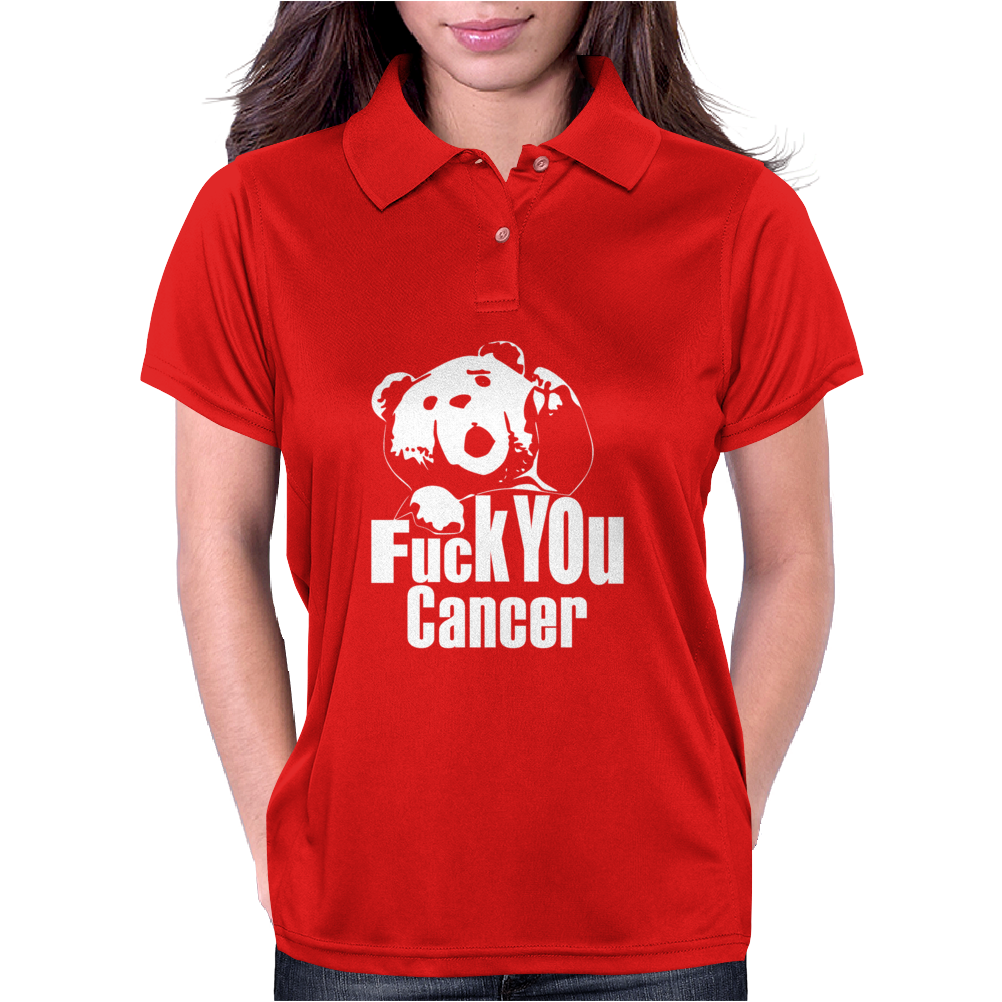 F@$k You Cancer Womens Polo