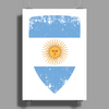 Flag of Argentina Poster Print (Portrait)