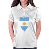 Flag of Argentina Womens Polo