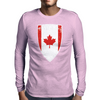 Flag of Canada Mens Long Sleeve T-Shirt