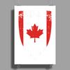Flag of Canada Poster Print (Portrait)