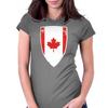 Flag of Canada Womens Fitted T-Shirt