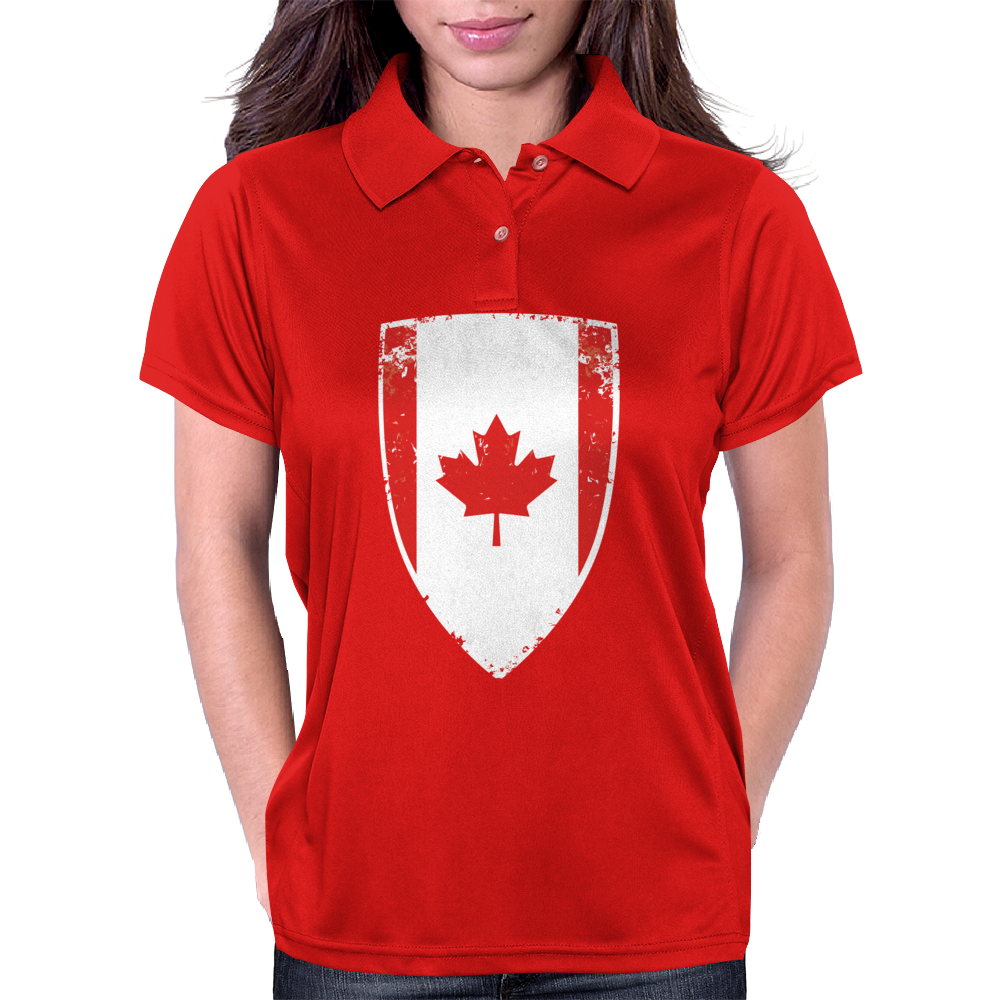 Flag of Canada Womens Polo