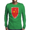 Flag of China Mens Long Sleeve T-Shirt