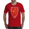 Flag of China Mens T-Shirt