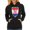 Flag of Croatia Womens Hoodie