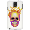 Flame Skull  Cell and Tablet Phone Case