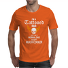Flames I'm A Tattooed Dad, Like A Normal Dad Except Much Cooler Mens T-Shirt