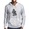 Flames in Bloom Mens Hoodie