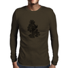 Flames in Bloom Mens Long Sleeve T-Shirt