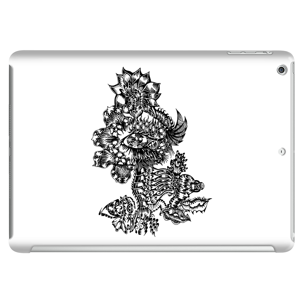 Flames in Bloom Tablet (horizontal)