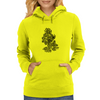 Flames in Bloom Womens Hoodie