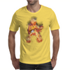 Flaming Guitartist Mens T-Shirt