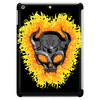 Flaming Skull Tablet (vertical)