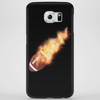 Flaming Soccerball Phone Case