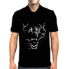 Flaming Wolf Mens Polo