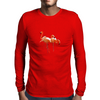Flamingo Mens Long Sleeve T-Shirt