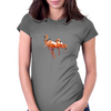 Flamingo Womens Fitted T-Shirt